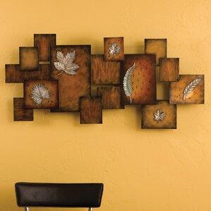 Metal Art For Walls tree & nature metal wall art you'll love | wayfair