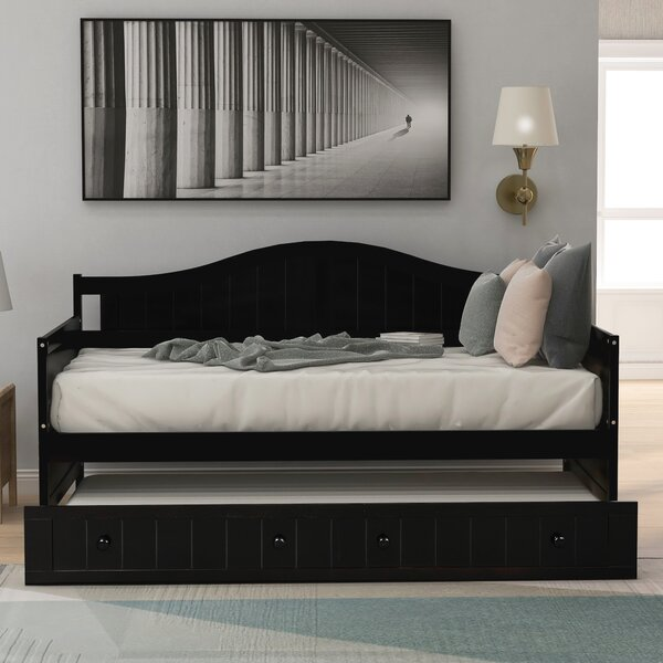 Ostia Twin Daybed With Trundle By Red Barrel Studio