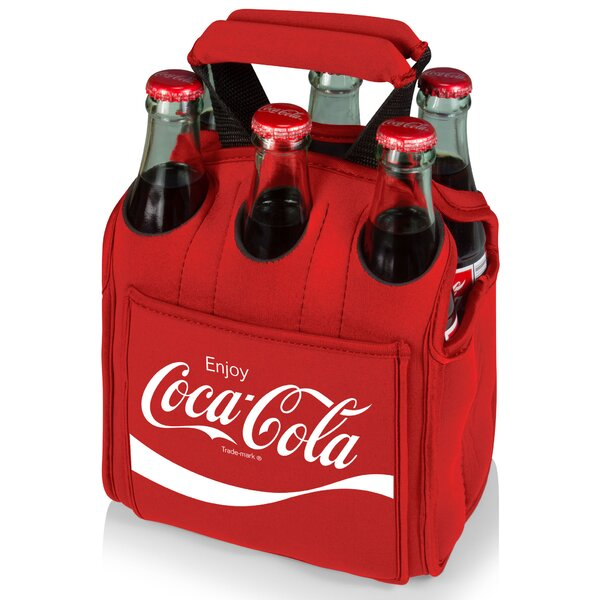 Coca-Cola Six Pack  20 Oz. Beverage Dispenser by Picnic Time