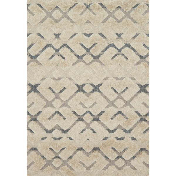 Bigham Sand Area Rug by Wrought Studio