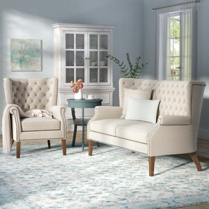 Adger 2 Piece Living Room Set by Lark Manor