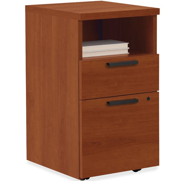 10500 Series 2-Drawer Mobile Vertical File Cabinet by HON
