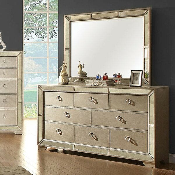 Alysa 8 Drawer Double Dresser by Rosdorf Park