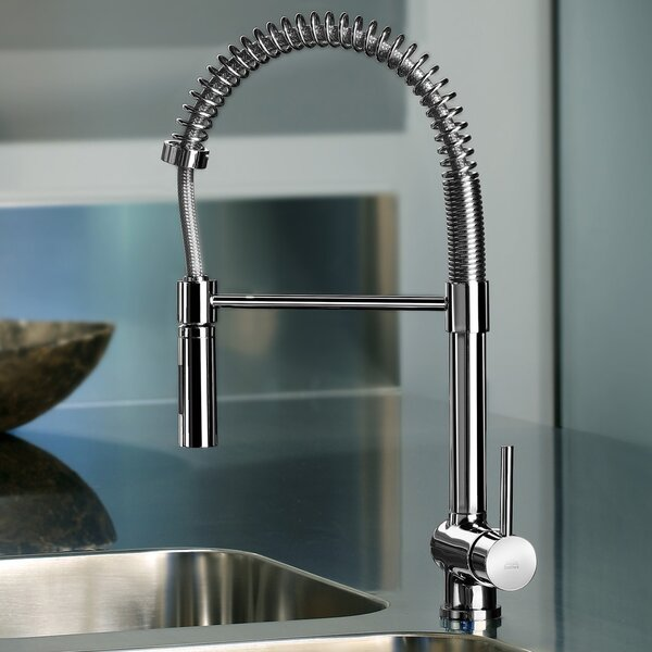 Stick Single Handle Kitchen Faucet by WS Bath Collections