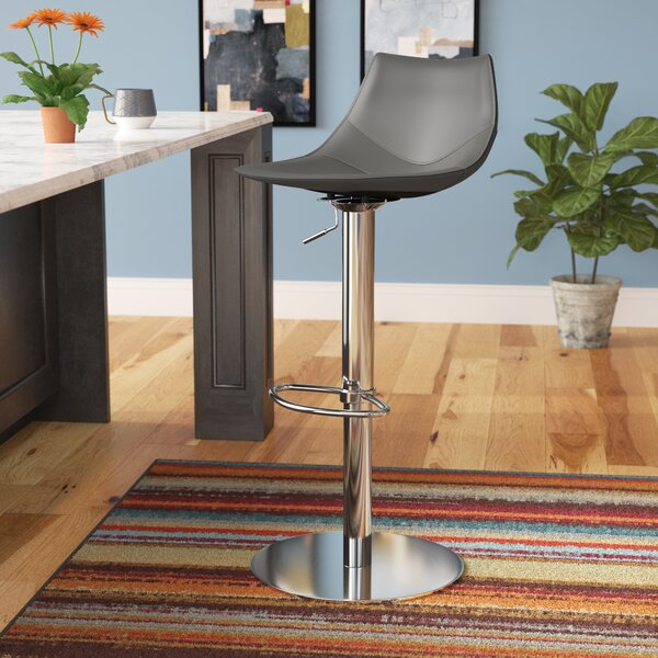 Bauch Adjustable Height Swivel Bar Stool by Comm Office
