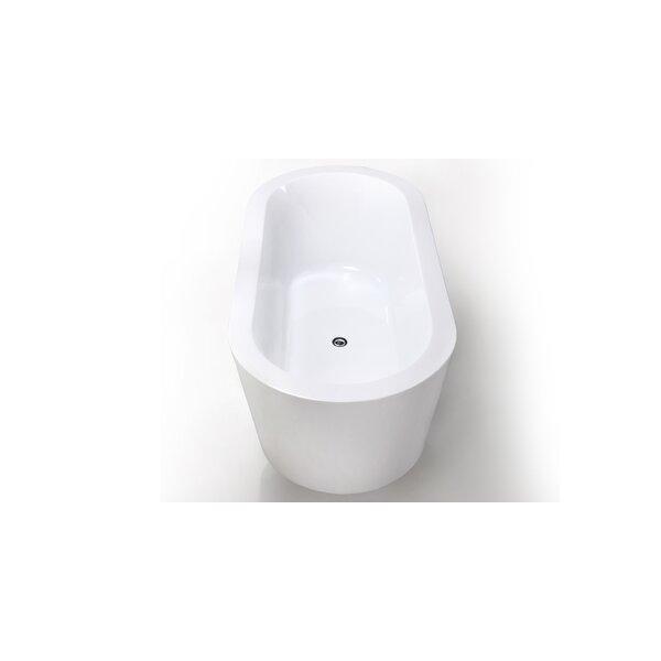 HelixBath Pella 59 x 29.5 Soaking Bathtub by Kardiel
