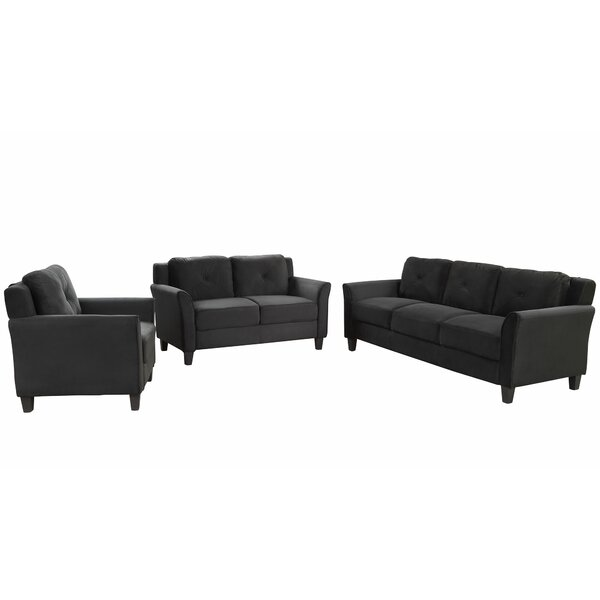 Juarez 3 Piece Living Room Set by Red Barrel Studio