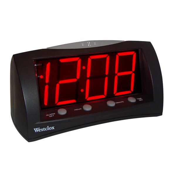 Extra Large Display Alarm Clock by Symple Stuff