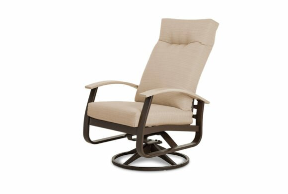 Belle Isle Swivel Rocker Patio Chair with Cushions by Telescope Casual