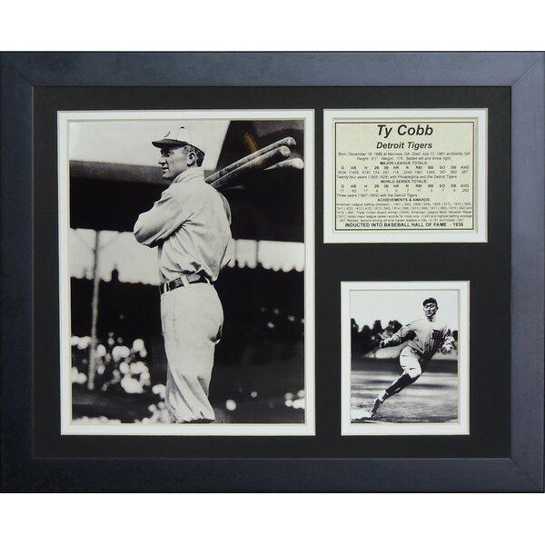 Ty Cobb Bats Framed Memorabilia by Legends Never Die