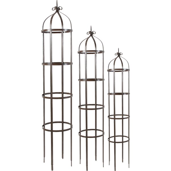 3 Piece Orin Metal Gothic Trellis Set by A&B Home
