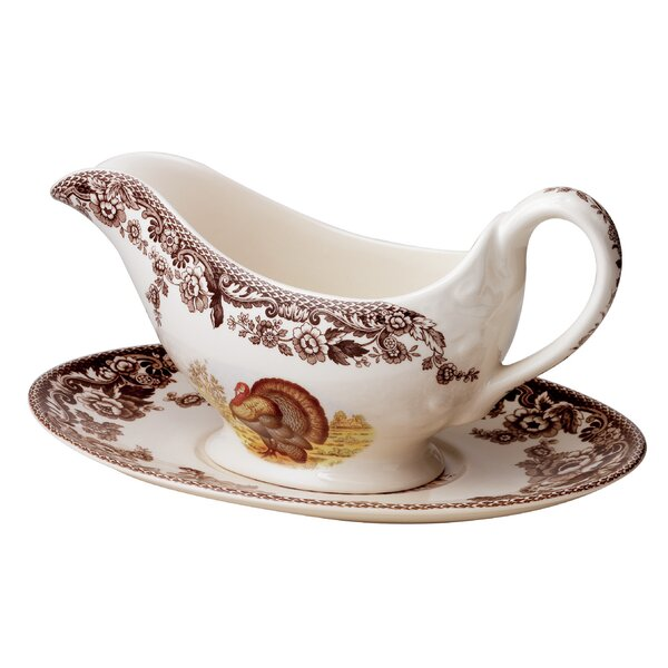Woodland 10 oz. Gravy Boat by Spode