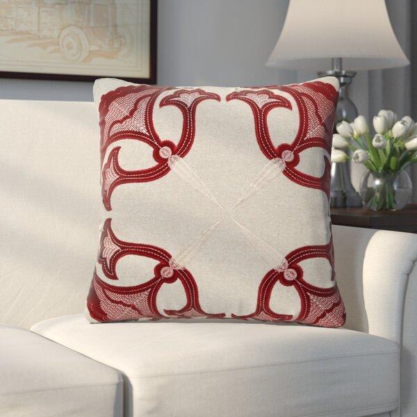 Godbold Applique Throw Pillow by Alcott Hill