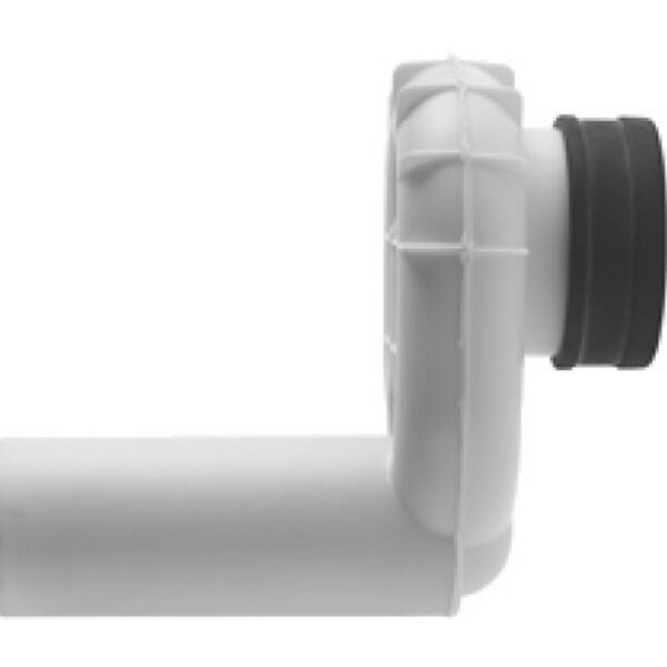 Siphon with Syphonic Action Horizontal Outlet by Duravit
