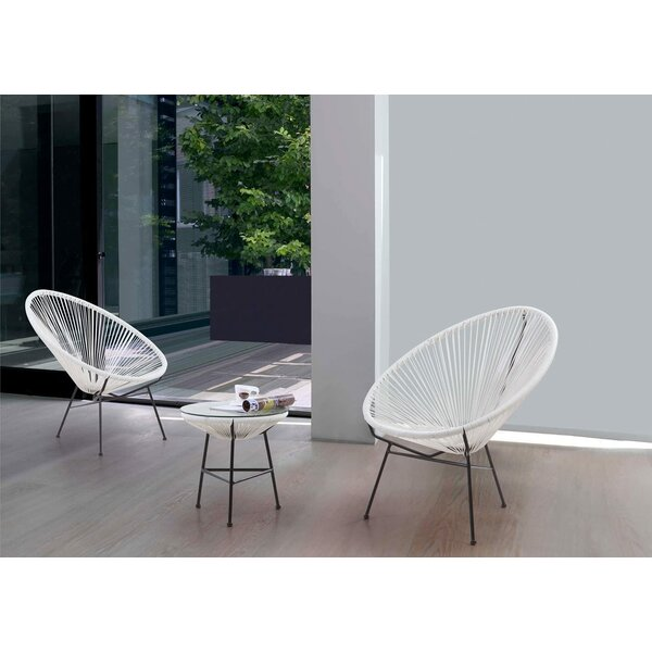 Mccaffrey Infinity 3 Piece Bistro Set By Corrigan Studio®