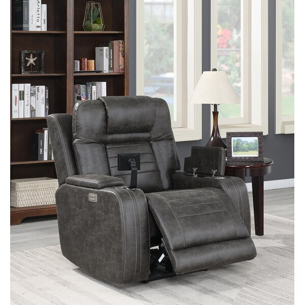 Debi Grace Voice Command Manual Wall Hugger Recliner By Red Barrel Studio