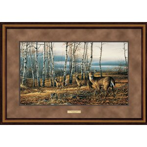 Birch Line by Terry Redlin Framed Painting Print by Wild Wings