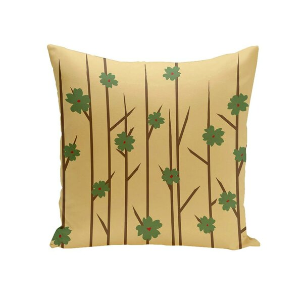 Butcombe Floral OutdoorThrow Pillow by Latitude Run