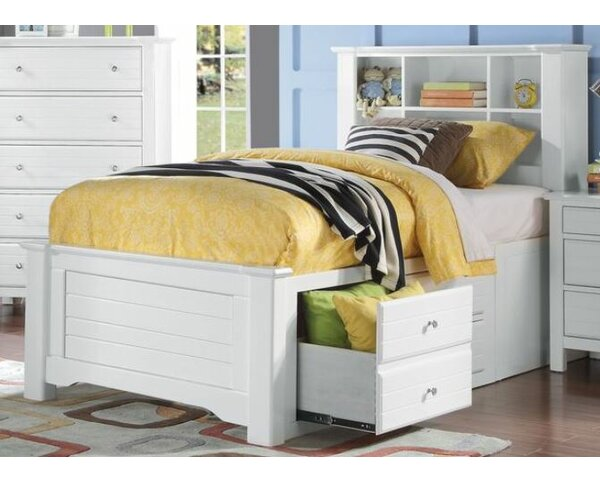 Everman Mate's & Captain's Bed with Storage by Harriet Bee