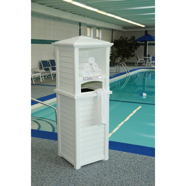 Tillett 24 Gallon Plastic Towel Valet by Charlton Home Charlton Home