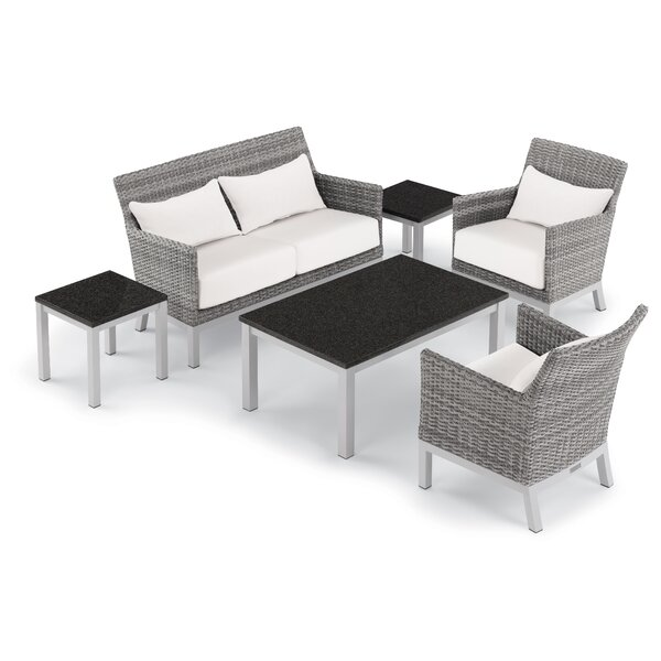Saint-Pierre 6 Piece Sofa Seating Group with Cushions by Brayden Studio