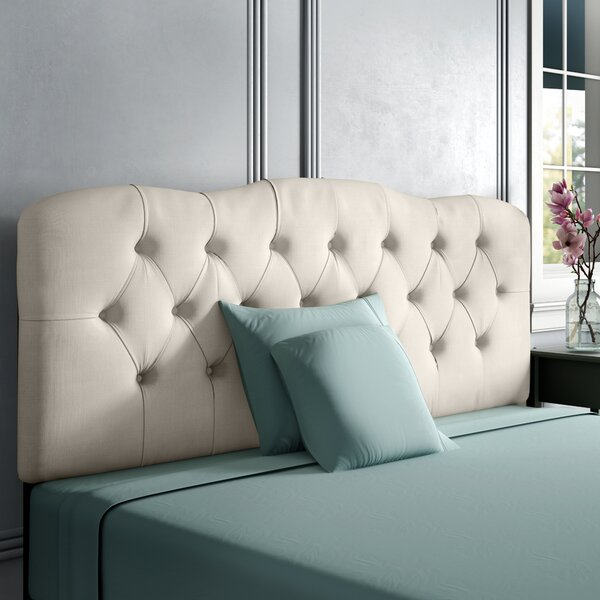 Stella Upholstered Panel Headboard by Wayfair Custom Upholstery™
