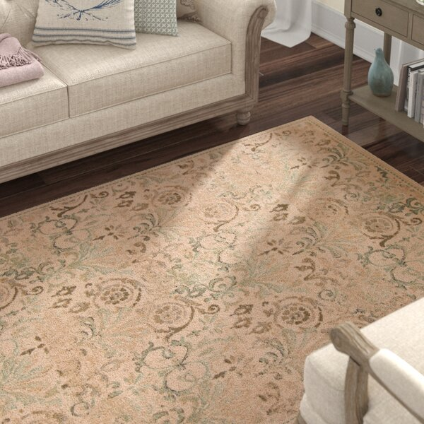 Giroflee Ivory/Taupe/Sage Area Rug by Lark Manor