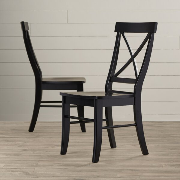 Sawyer Solid Wood Dining Chair (Set of 2) by August Grove