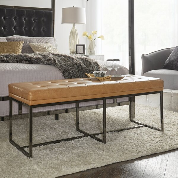 Fadrique Upholstered Bedroom Bench by Willa Arlo Interiors