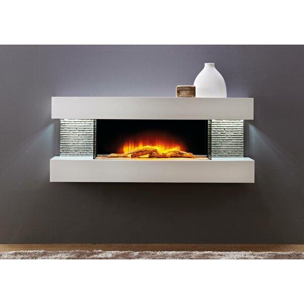Mahalick Petite Wall Mounted Electric Fireplace By Orren Ellis