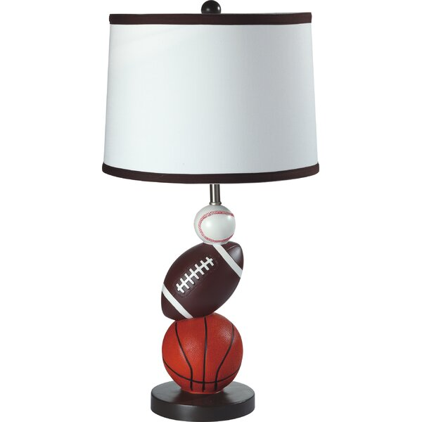 Lytle Sports 24 Table Lamp (Set of 4) by Zoomie Kids