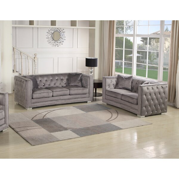 Lehmann 2 Piece Living Room Set by House of Hampton