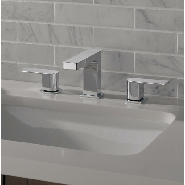Xander Two Handle Widespread Bathroom Faucet with Drain Assembly by Peerless Faucets Peerless Faucets