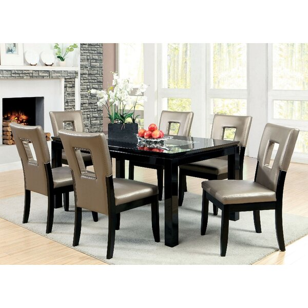 Kinzer 7 Piece Dining Set by Wrought Studio Wrought Studio
