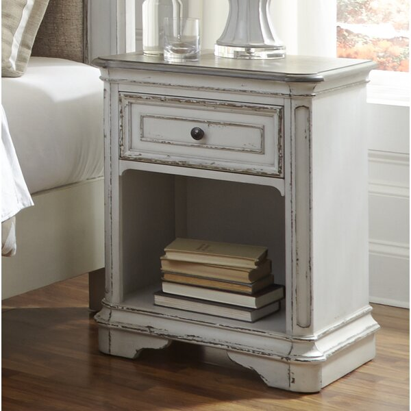 Niels 1 Drawer Night Stand by One Allium Way