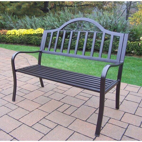 Lisabeth Iron Garden Bench by Red Barrel Studio