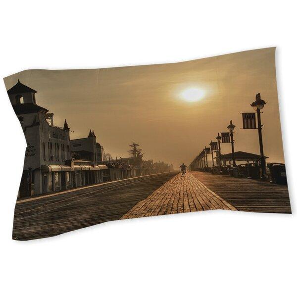 Boardwalk Sunrise Sham by Manual Woodworkers & Weavers