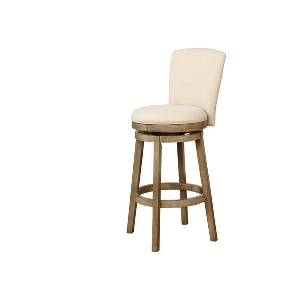 Amaranthe 30 Swivel Bar Stool by Laurel Foundry Modern Farmhouse