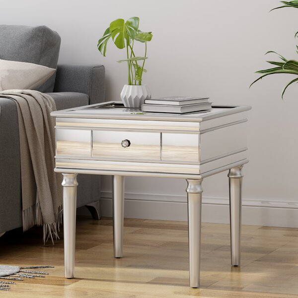 Callaghan End Table with Storage by House of Hampton