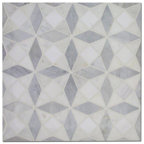 11 x 11 Marble Random Mosaic Wall & Floor Tile