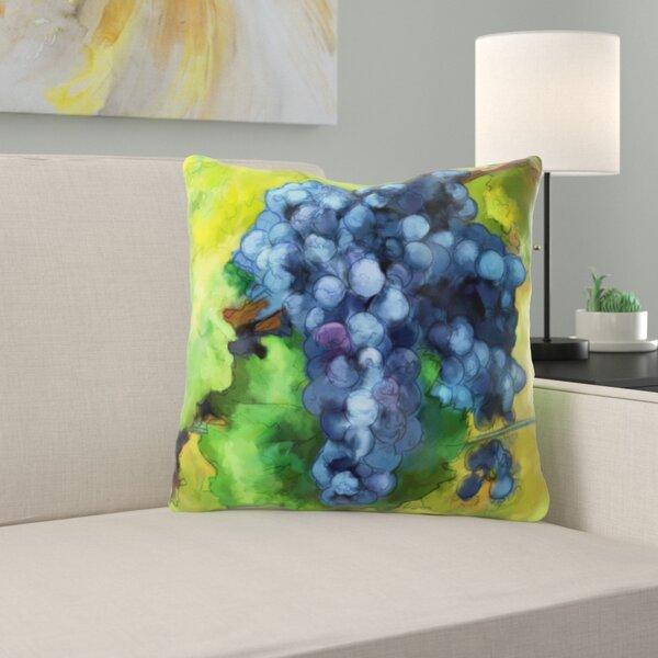 Ellerby Grapes Throw Pillow
