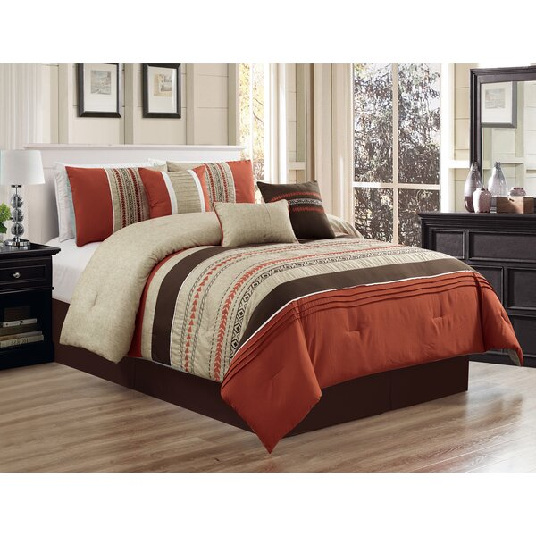 Shae Embroidery Comforter Set by Zipcode Design