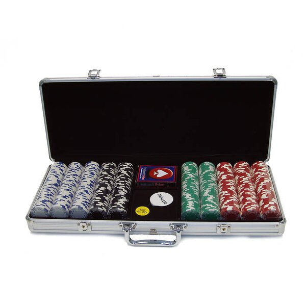 500 Piece Royal Suited Poker Chip by Trademark Global