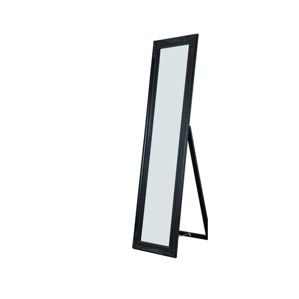 Eleni Wooden Standing Wall Mirror by Willa Arlo In
