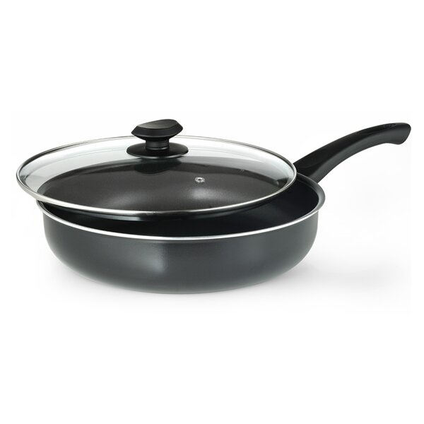 Elements 11 Deep Saute Pan with Lid by Ecolution