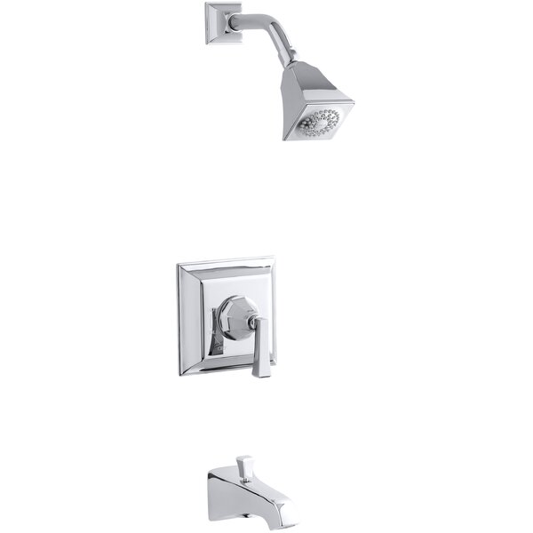 Memoirs Stately Rite-Temp Pressure-Balancing Bath and Shower Faucet Trim with Deco Lever Handle, Valve Not Included by Kohler