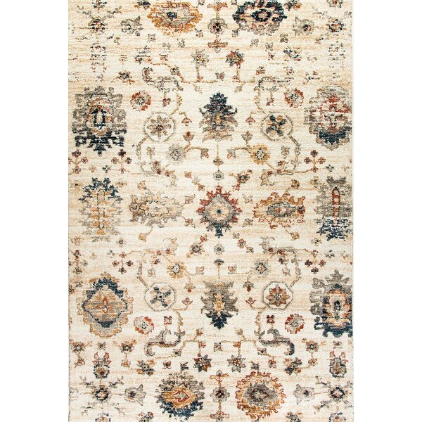 Precious Ivory Area Rug by Charlton Home
