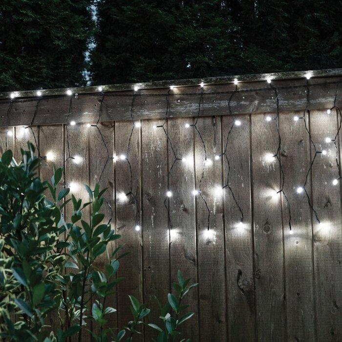 Droplite 100 Solar Curtain String Lights