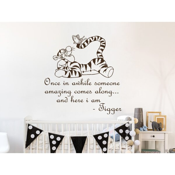 Hegarty Winnie the Pooh Tigger Wall Decal by Zoomie Kids