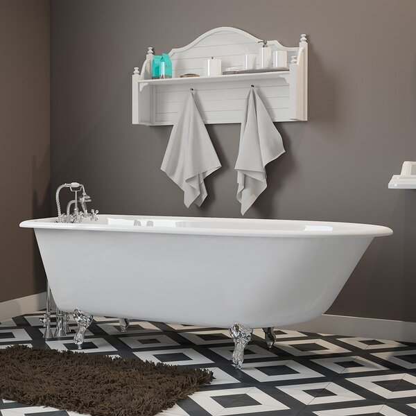 61 x 30 Clawfoot Bathtub by Cambridge Plumbing
